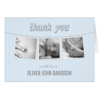 Hanging Pictures Thank You Card Greeting Cards