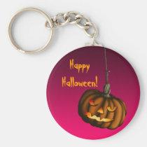 Hanging Pumpkin, keychain