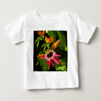 Hanging Red Bromeliad Baby T-Shirt