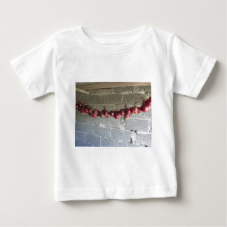Hanging red onion collection baby T-Shirt