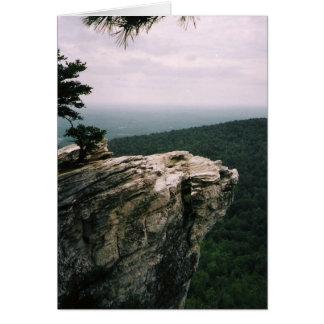 hanging rock view card