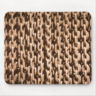 Hanging Rusted Iron Chain Mouse Pad
