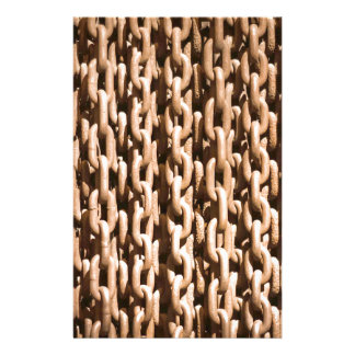 Hanging Rusted Iron Chain Stationery