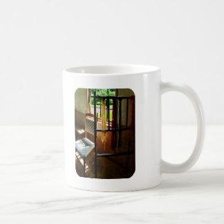 Hanging Skeins of Yarn Coffee Mug