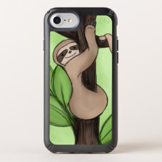 Hanging Sloth Speck iPhone Case