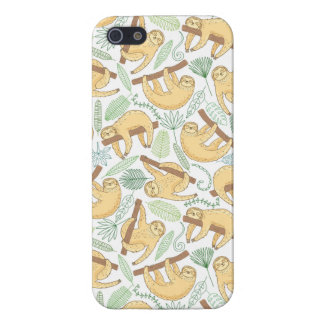 Hanging Sloths iPhone SE/5/5s Case