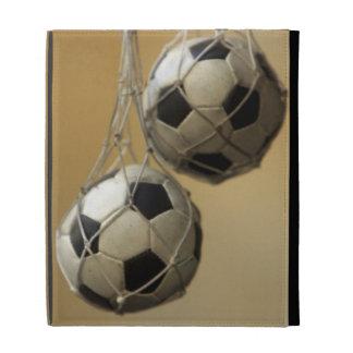 Hanging Soccer Balls iPad Folio Case