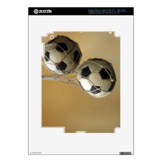 Hanging Soccer Balls iPad 3 Decal
