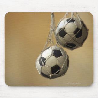 Hanging Soccer Balls Mousepads