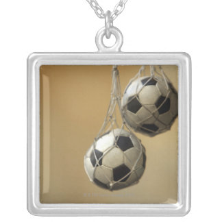 Hanging Soccer Balls Pendant