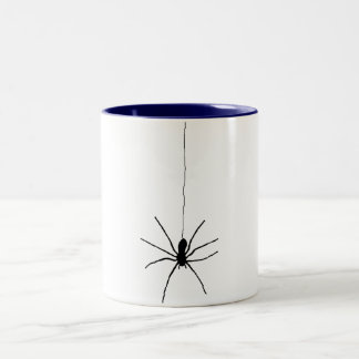 Hanging Spider Two-Tone Coffee Mug