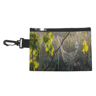 Hanging spiderwebs accessory bag