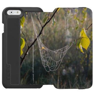 Hanging spiderwebs iPhone 6/6s wallet case