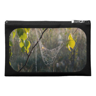 Hanging spiderwebs travel accessories bags