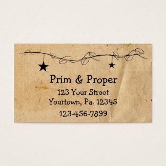 Hanging Stars Business Card