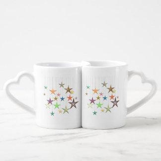 HANGING STARS COFFEE MUG SET