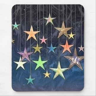 HANGING STARS MOUSE PAD