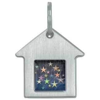 HANGING STARS PET NAME TAG