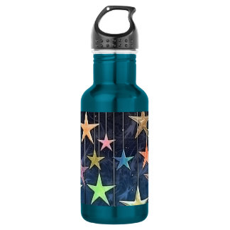 HANGING STARS STAINLESS STEEL WATER BOTTLE