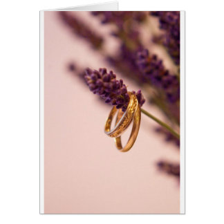 Hanging Wedding Bands Card