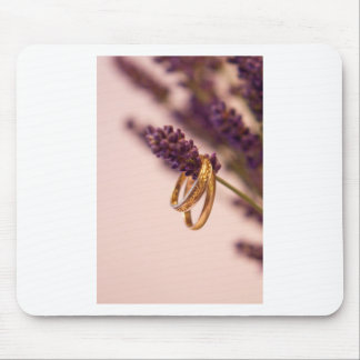 Hanging Wedding Bands Mouse Pad