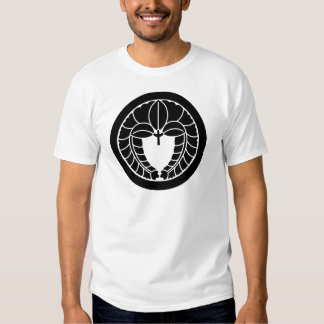 Hanging wisteria in circle shirts