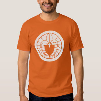 Hanging wisteria in circle t shirt