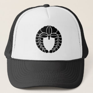 Hanging wisteria trucker hat