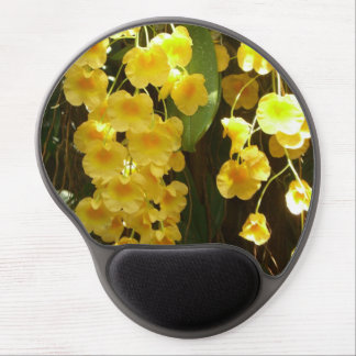 Hanging Yellow Orchids Gel Mousepad