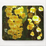 Hanging Yellow Orchids Mousepad
