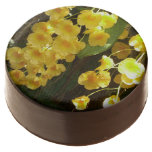 Hanging Yellow Orchids Tropical Flowers Chocolate Covered Oreo