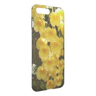 Hanging Yellow Orchids Tropical Flowers iPhone 7 Plus Case