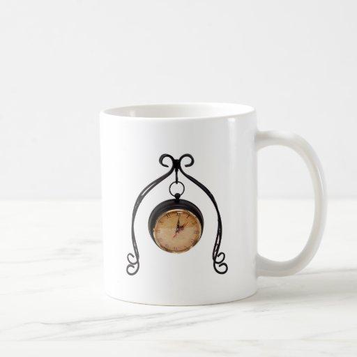 HangingClock013110 Coffee Mugs