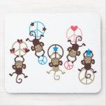 HangingMonkey14 Mouse Pad