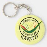 HANGLOOSE CUELGA EL LLAVERO DE HAWAII-SHAKKA DE UN