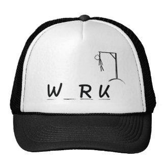 Hangman with WRK Trucker Hat