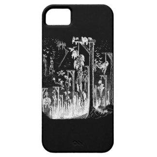 Hangmans Feast Negative Image iphone 5 case