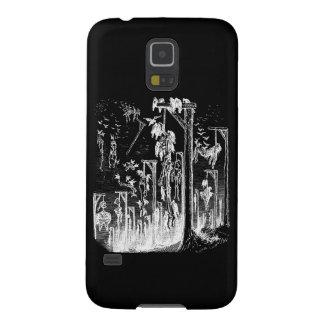 Hangmans Feast Negative Image Samsung Galaxy S5 Galaxy S5 Case