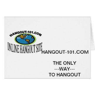 Hangout-101.com Card