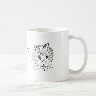 Hangover Bunny Coffee Mug