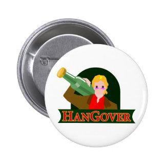 hangover pinback button