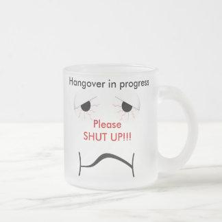 Hangover Frosted Mug