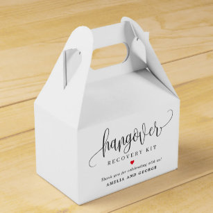 Wedding shower bags Bachelor Party Favors Party Favor Bags Hangover Kit Wedding Favor Bags Custom printed bags 4 x 6 --64554-MB04-610