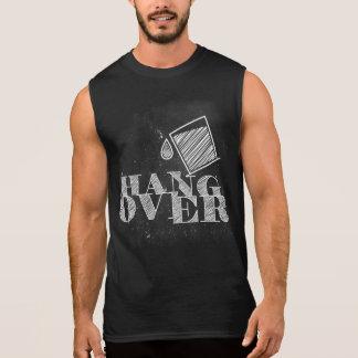 hangover printed sleeveless shirt