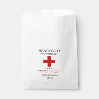 Hangover Recovery Kit Wedding Favor Bag