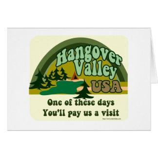 Hangover Valley USA Card