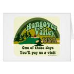 Hangover Valley USA Greeting Card