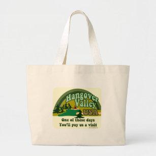 Hangover Valley USA Large Tote Bag