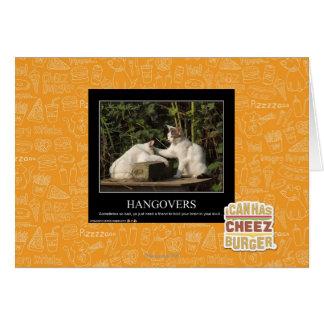 Hangovers Card