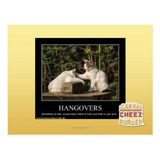 Hangovers Postcard
